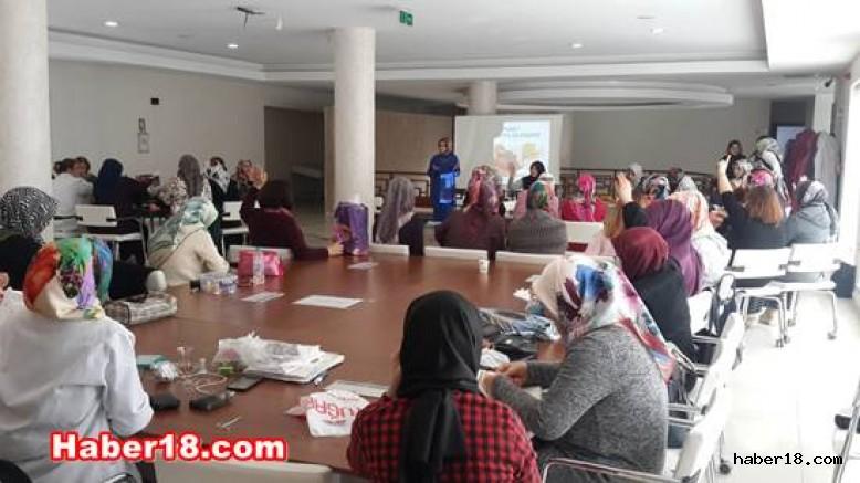 Çankırı'da Diyabet ve Aile Semineri Düzenlendi  Çankırı Belediye haber18 çankırı