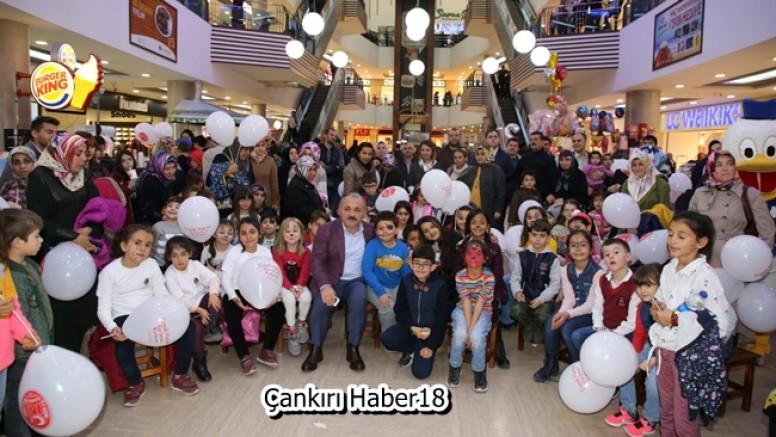Çankırı'da Dünya Çocuk Hakları Günü Kutlandı - Belediye - haber18.com - Çankırı haberleri