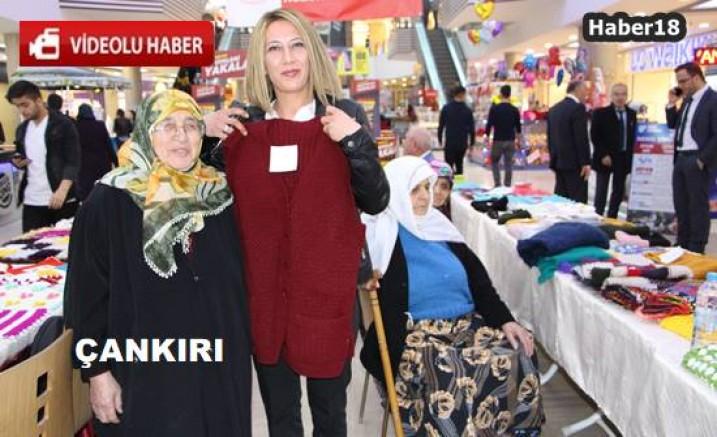 Çankırı'da Huzurevi Sakinlerinin El Sanatları Sergilendi Kurumlar - Çankırı