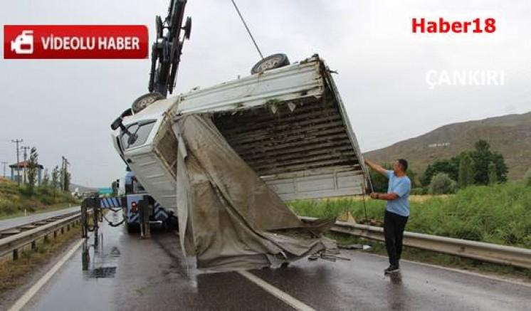 Çankırı - Çankırı'da İki Kaza Peş Peşe Oldu - Genel Haberler haber18 haberleri