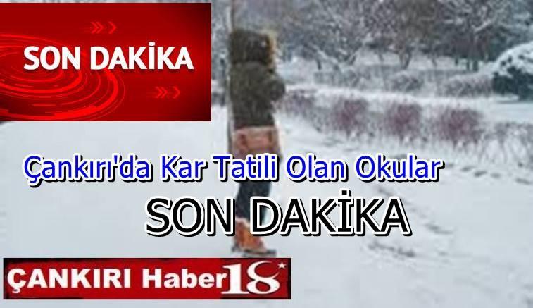 Kar Tatilleri Haberleri Gelemeye Başladı - Genel Haber - haber18.com - Çankırı haberleri