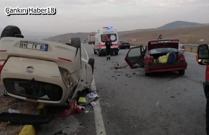 Trafik Kazasında 7 Kişi Yaralandı - Genel Haber Çankırı haber18