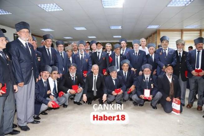 Çankırı - Çankırı'da Milli Mücadele Madalyası ve Beratı Tevcih Töreni Gerçekleştirildi - Genel Haber - haber18