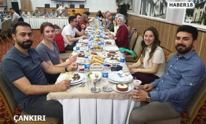 Çankırı - Çankırı'da Milli Eğitim Çalışanları İftar Bir Araya Geldi - Eğitim Çankırı haber18