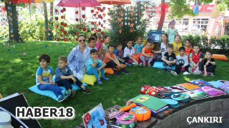 Çankırı - Çankırı'da Okul Öncesi Kitap Şenliği Büyük İlgi Gördü - Eğitim Çankırı haber18