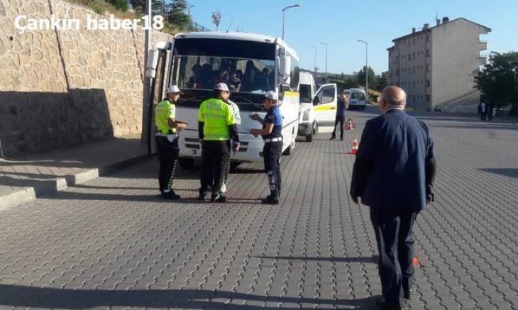 Çankırı'da Okul Servislerine Sıkı Denetim - Belediye - Çankırı - haber18