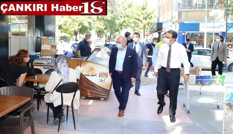 Vali Abdullah Ayaz  ve Çankırı Belediye Başkanı İsmail Hakkı Esen, Virüs Tedbirleri Denetimine Katıldılar - Çankırı Belediye Haber18 - attorney at law ,boat yacht  wealth luxury