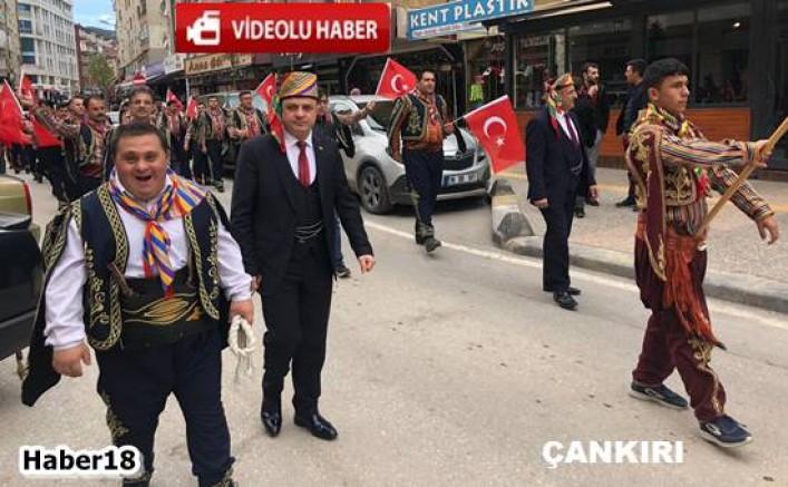 Çankırı'da Yaranağalar Şehitlerimiz İçin Yürüyüş Yaptı  Genel haberler - Çankırı