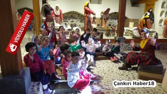 çankırı - Çankırı'da Yöresel Masallar İlgi Çekiyor Çankırı Belediyesi