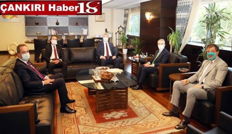 Çankırı Valisi, Milletvekilleri ve Rektör, Cumhurbaşkanlığı Strateji ve Bütçe Başkanı Naci Ağbal Ziyaret Etti - Çankırı siyaset Haber18 - attorney at law ,boat yacht  wealth luxury