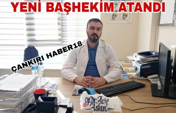 Devlet Hastanesi  Yeni Başhekim Atandı - Genel Haber - Çankırı - haber18