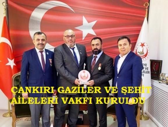 Çankırı Gaziler ve Şehit Aileleri Vakfı Kuruldu - Çankırı STK Haber18 - attorney at law ,boat yacht  wealth luxury