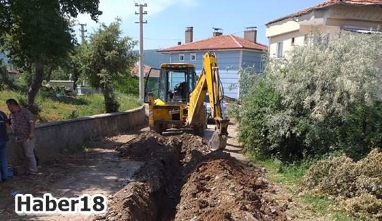 Çankırı Ilgaz İlçesinde Mahallelere Hışhış Suyu - Ilgaz - Çankırı - haber18