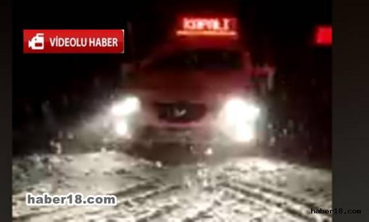 Çankırı - Korgun Ilgaz Yolu Kapalı - Genel Haberler haber18 haberleri