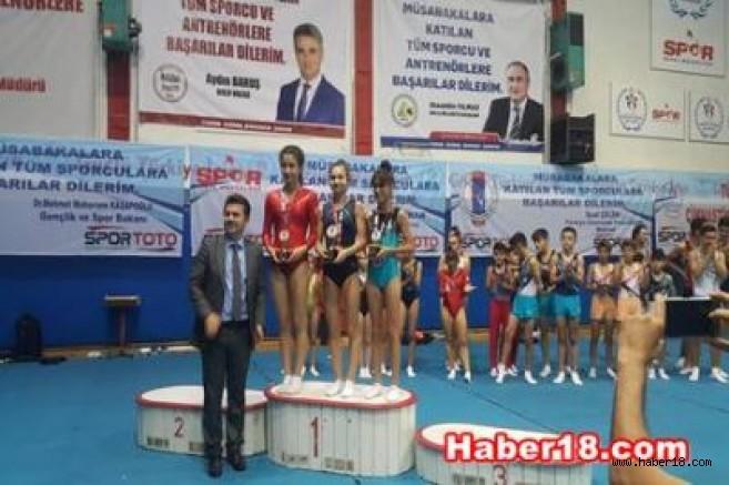 Çankırı Jimnastik Yeni Başarılar Elde Etti