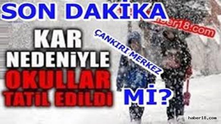 Çankırı - Kar Tatilleri Gelmeye Başladı - Genel Haberler haber18 haberleri