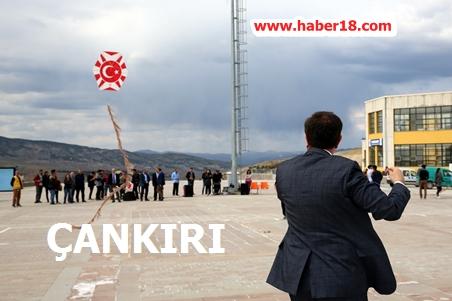 Çankırı Karatekin Üniversitesi  Uçurtma Şenliği Düzenledi. Çankırı Spor - Çankırı