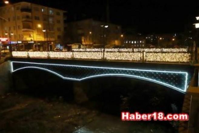 Çankırı'nın Köprülerine Işıklı Dokunuş