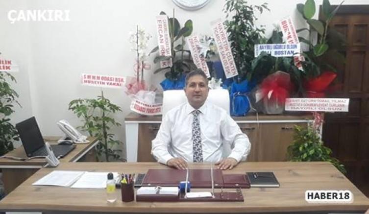 Çankırı - Çankırı'nın Yeni Belediye Başkan Yardımcısına Yoğun İlgi - Çankırı Belediyesi haber18 haberleri