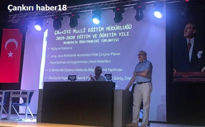 Çankırı - Çankırı- Rehberlik Öğretmenleri Toplantısı Yapıldı - Eğitim Haberleri haber18 haberleri