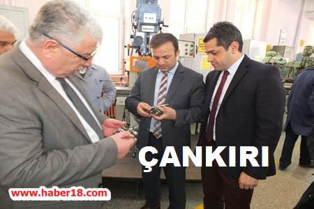 Çankırı Vali Yardımcısı Ertekin, Lisede İnceleme Yaptı Çankırı Valilik - Çankırı