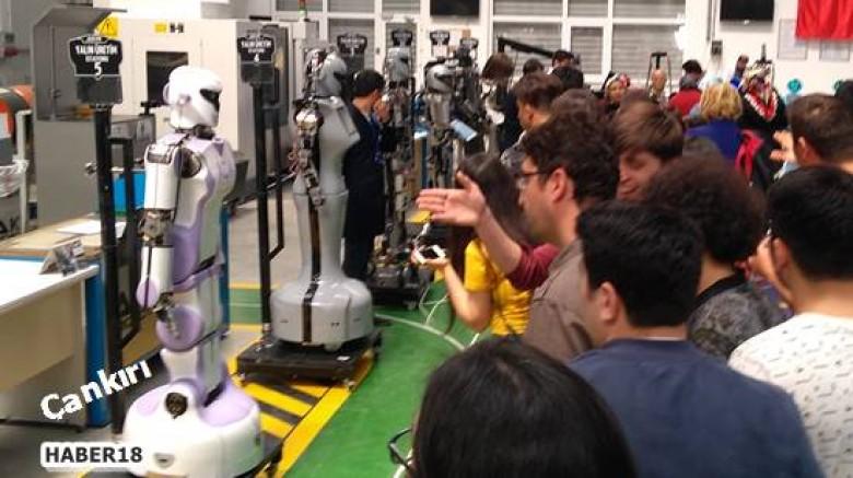 Çankırı haber18 - Çankırılı Öğrenciler Robot Fabrikasını Gezdiler Çankırı Eğitim - Çankırı resim görselleri