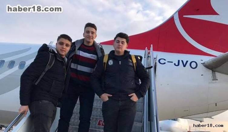 Çankırı - Çankırılı Öğrenciler Staj İçin Avrupa'ya Gittiler - Eğitim Çankırı haber18