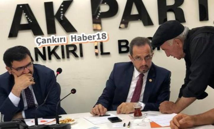 Çivitçioğlu, Halk Gününde Vatandaşlarla Bir Araya Geldi - Siyaset - Çankırı - haber18