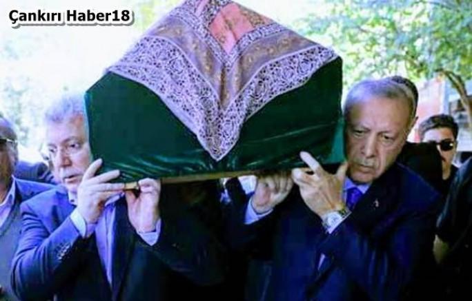 Çankırı - Cumhurbaşkanı Erdoğan, Akbaşoğlu'nun annesinin cenazesine katıldı - Siyaset Çankırı haber18
