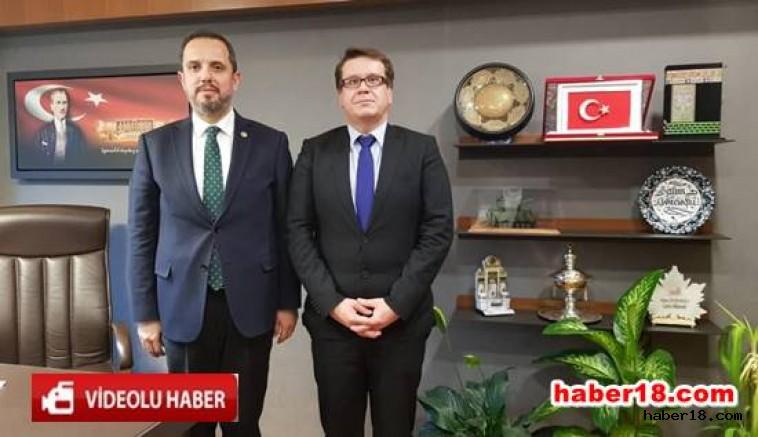 Çankırı - Çek Cumhuriyeti Büyükelçisi, Çivitçioğlu'nu Ziyaret Etti - Siyaset haber18 haberleri