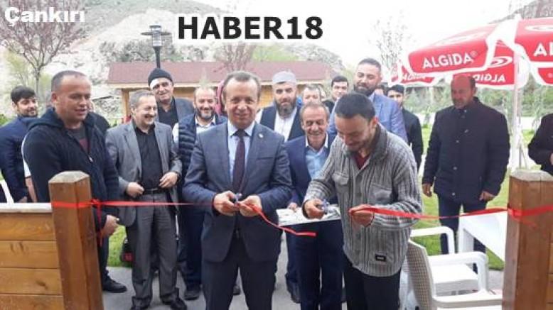 Devrez Mesire Alanında Kafeterya ve Restoran Açıldı - Kurşunlu - haber18.com - Çankırı haberleri
