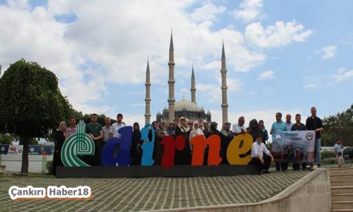 Çankırı - Edirne ve İstanbul illerine tarihi ve kültürel gezi düzenledi - STK haber18 haberleri