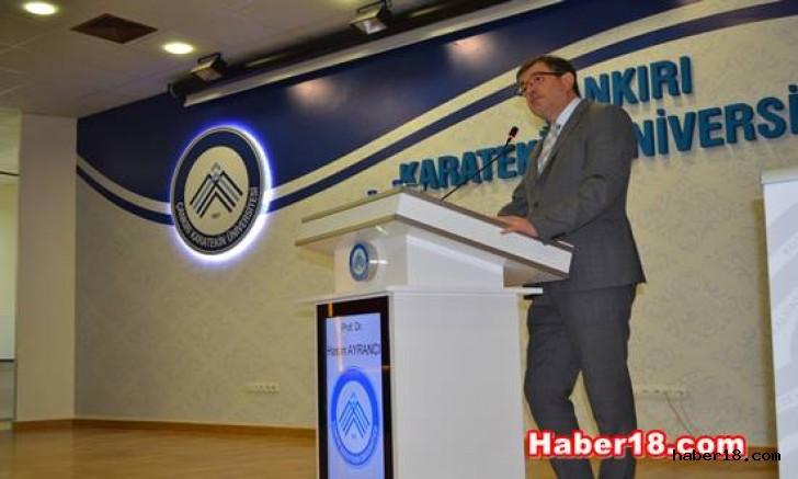 Çankırı - Ekosisteminin Güçlendirilmesi Paneli Gerçekleştirildi - Üniversite haber18 haberleri