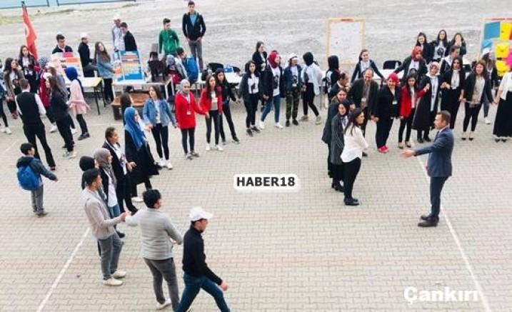 Çankırı - Eldivan Çok Programlı Anadolu Lisesi Bilim Fuarı - Eldivan Çankırı haber18