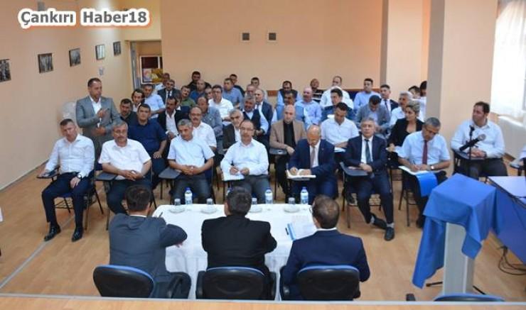 Çankırı - Eldivan İlçemizde Muhtarlar Toplantısı Gerçekleştirildi - Eldivan Haberleri haber18 haberleri