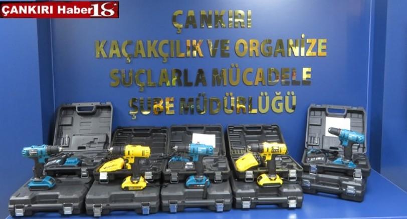 İl Emniyet Müdürlüğü KOM Şube Ekleri 14 adet Kaçak şarjlı el matkabı Yakalandı - Çankırı Genel Haber Haber18 - attorney at law ,boat yacht  wealth luxury