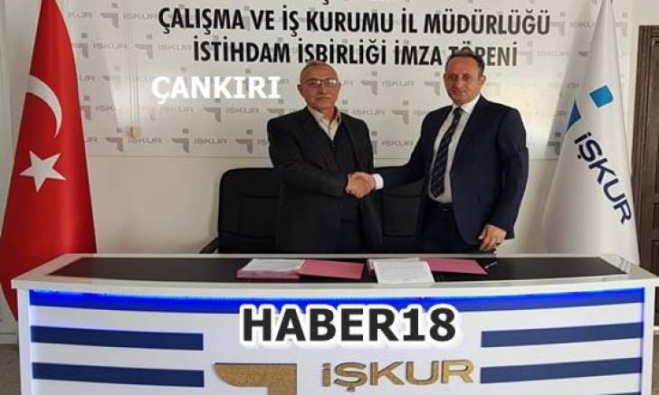Çankırı - ERNAMAŞ 26 kişilik İşbaşı Eğitim Programı protokolü imzalandı - Şabanözü Haberleri haber18 haberleri