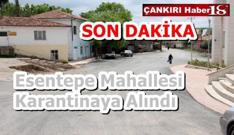 Esentepe Mahallesi Karantinaya Alındı - Genel Haber - Çankırı -Genel Haber - Haber 18 - attorney at law ,boat yacht  wealth luxury