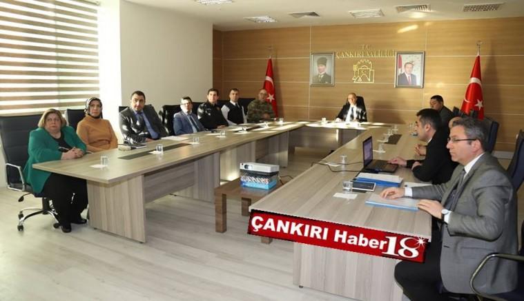 GAMER,Vali Hamdi Bilge Aktaş Başkanlığında Toplandı - Valilik - Çankırı - Haber 18