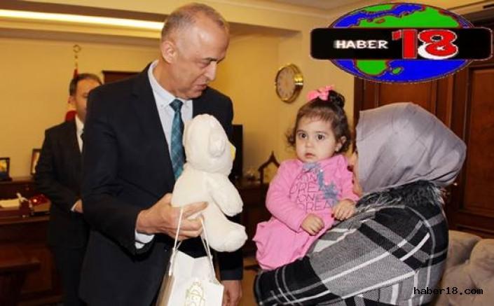 Çankırı haber18 - Göçmenler Vali Hamdi Bilge Aktaş'ı Ziyaret Etti Çankırı Valilik - Çankırı resim görselleri