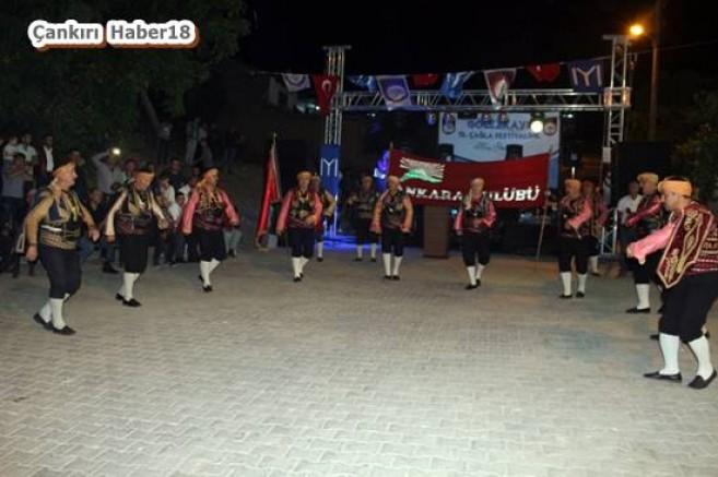 Gölez Kayı'da  Çağla Festivali - Eldivan - haber18.com - Çankırı haberleri