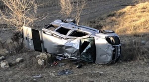 Grup Yolunda Kaza 4 Yaralı - Genel Haber Çankırı haber18