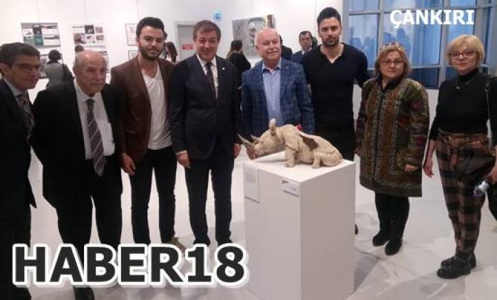 Çankırı - Güzel Sanatlar Fakültesi Yıl Sonu Sergisi Gerçekleştirildi - Üniversite haber18 haberleri