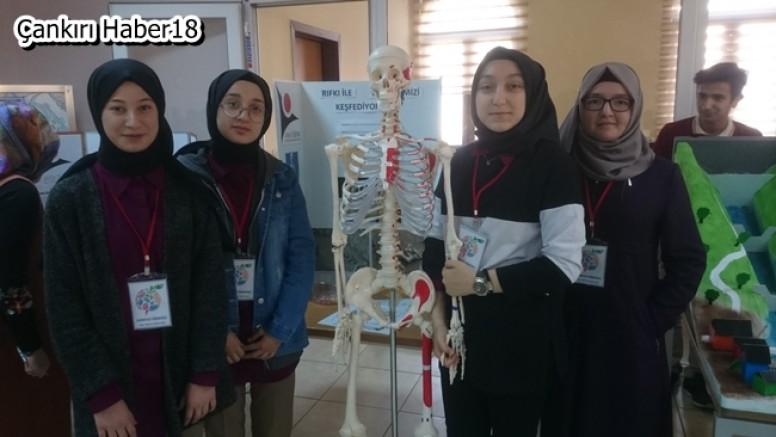 Hacı Muradı Veli Anadolu İmam Hatip Lisesi TÜBİTAK Bilim Fuarı Gerçekleştirildi - Eğitim - Çankırı - haber18