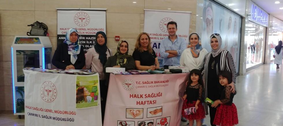 Çankırı - Halk Sağlığı Haftası Kutlandı  - Kurumlar haber18 haberleri