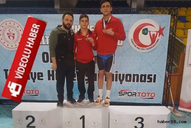 Halterde Türkiye Şampiyonları Çankırı'dan Çankırı Spor haber18 çankırı