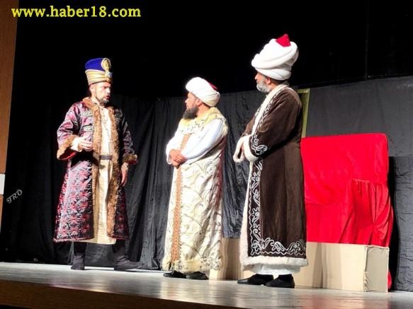 Çankırı - Her Bizans'a Bir Fatih Adlı Tiyatro Oyunu Sahnelendi - STK haber18 haberleri