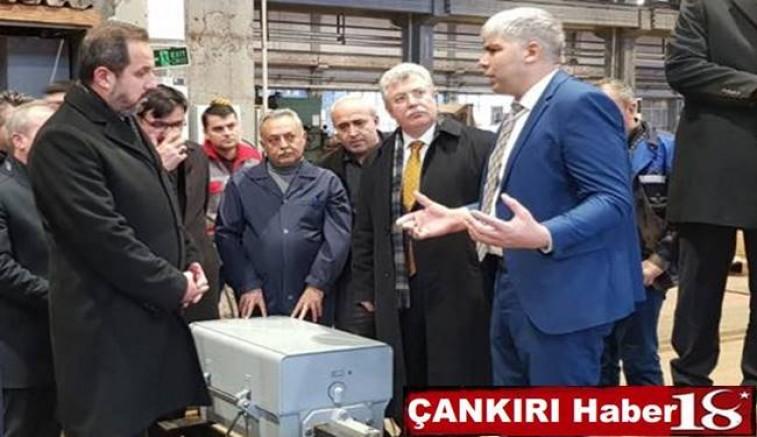 AK Partili Siyasiler TCDD Makas Fabrikasını Ziyaret Ettiler - Çankırı siyaset Haber18 - attorney at law ,boat yacht  wealth luxury
