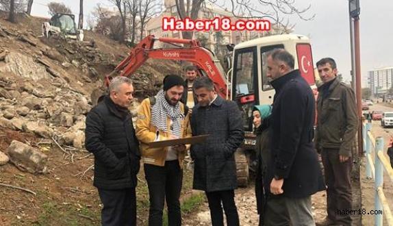 Başkan Hüseyin Boz, Gözde Arazisinde Çalışma Başlattı
