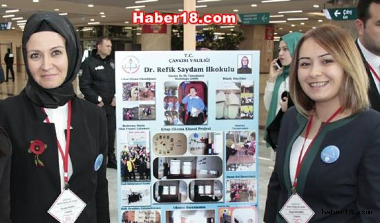 İki Öğretmenimiz Ankara'da Çankırı Eğitim - Çankırı
